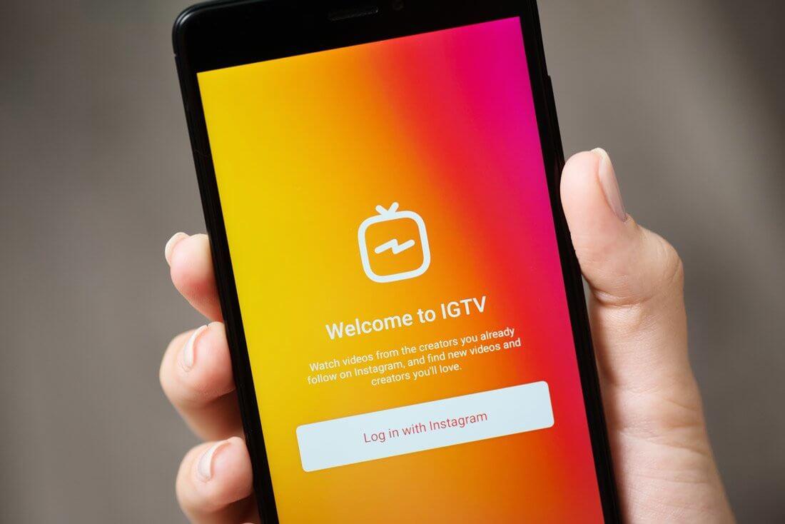 Продвижение IGTV. IGTV в Инстаграм накрутить онлайн.